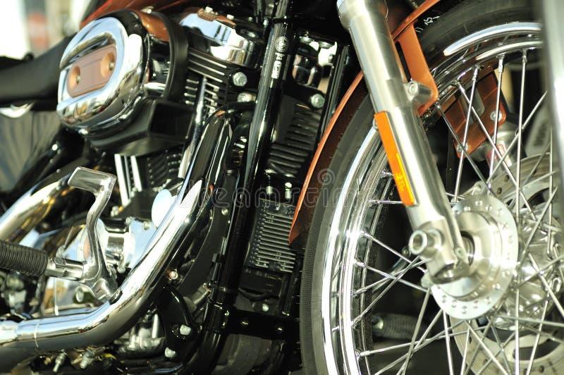Ultra clean motor bike stock photos