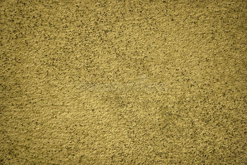 Ultra gele Concrete cementtextuur, steenoppervlakte, rotsachtergrond royalty-vrije stock afbeelding