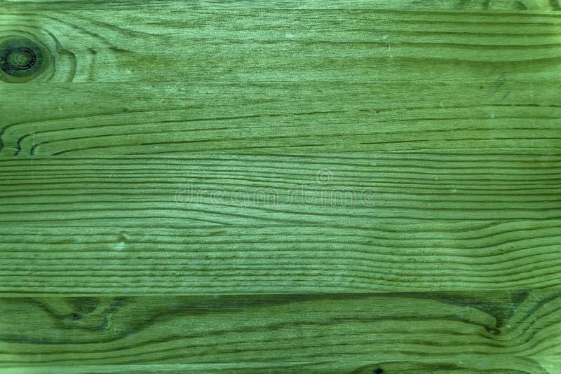 Ultra groene Houten raadstextuur, lege modelachtergrond royalty-vrije stock foto