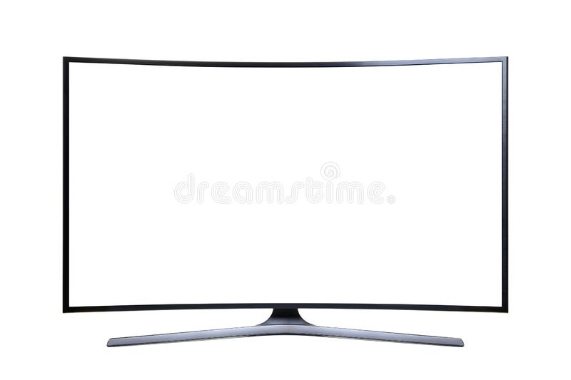 Ultra HD Television royalty free stock photography
