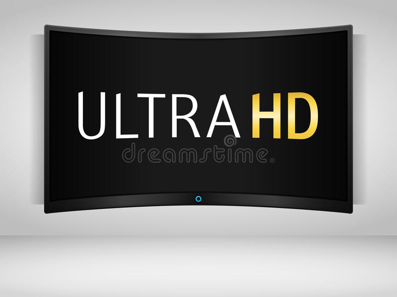 Ultra HD TV libre illustration