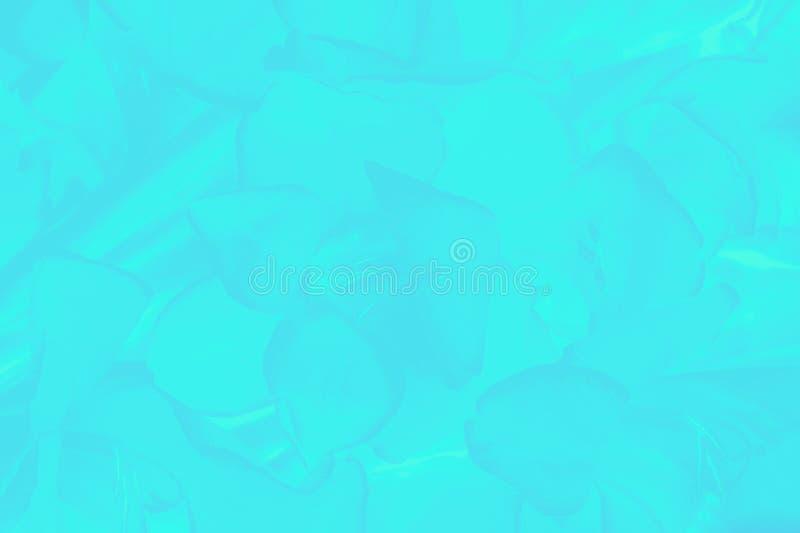 Ultra la aguamarina colorea el fondo con un estampado de flores delicado foto de archivo libre de regalías