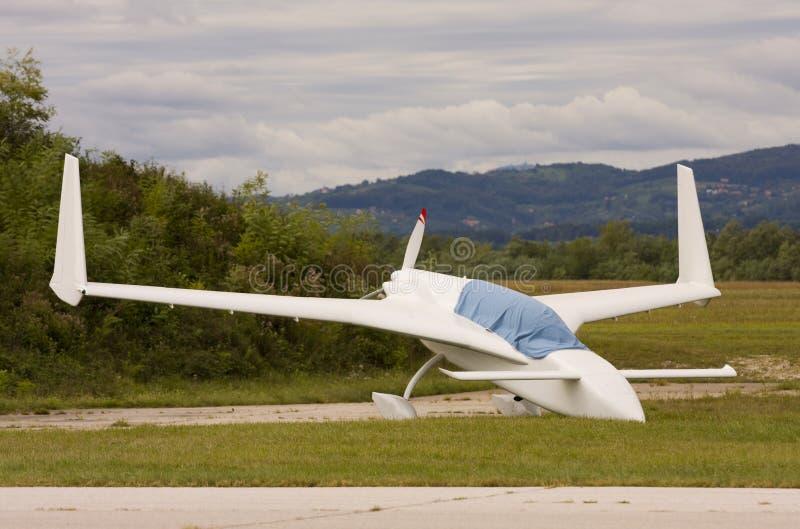 Ultra lichte vliegtuigen stock foto's