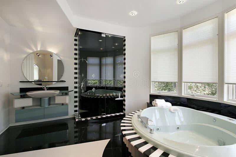 Ultra modern hoofdbad stock afbeelding