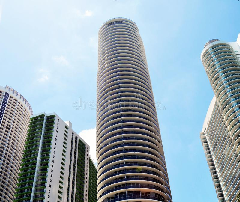 Ultra Modern Rental Apartment Towers In Downtown Miami
