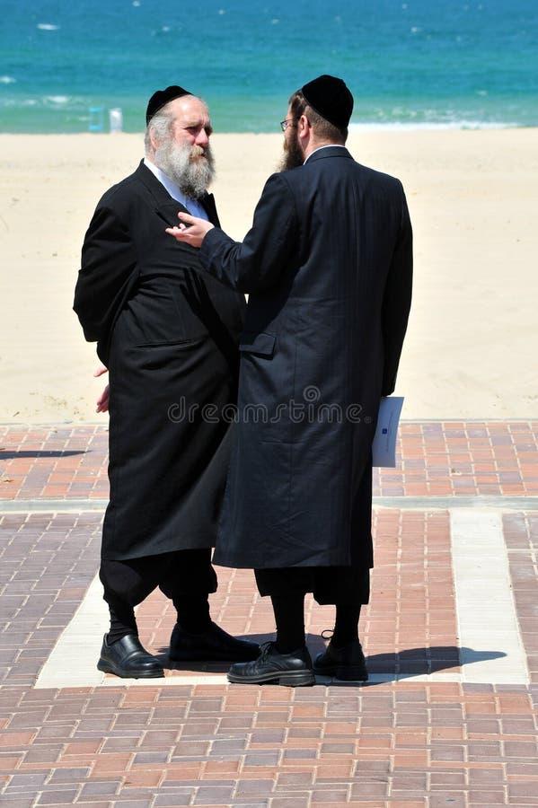 Ultra-Orthodox Εβραίοι στοκ φωτογραφίες με δικαίωμα ελεύθερης χρήσης