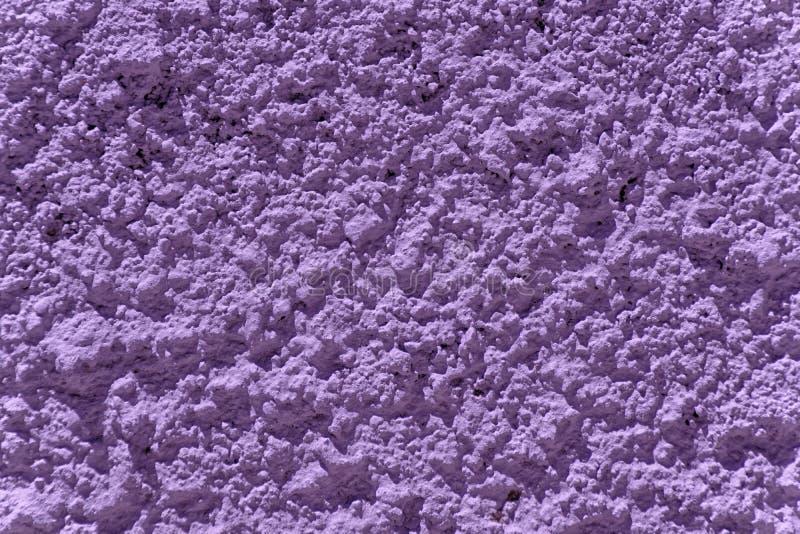 Ultra purpere Concrete de muurtextuur van het gipspleistercement, patroon voor dekking of achtergrond royalty-vrije stock afbeelding