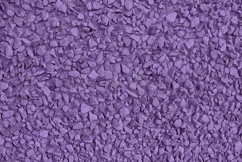 Ultra purpere Kiezelsteen geweven oppervlakte, steenachtergrond en keiachtergrond royalty-vrije stock foto's