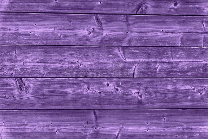 Ultra purpere lege houten textuur, eenvoudige achtergrond royalty-vrije stock afbeelding
