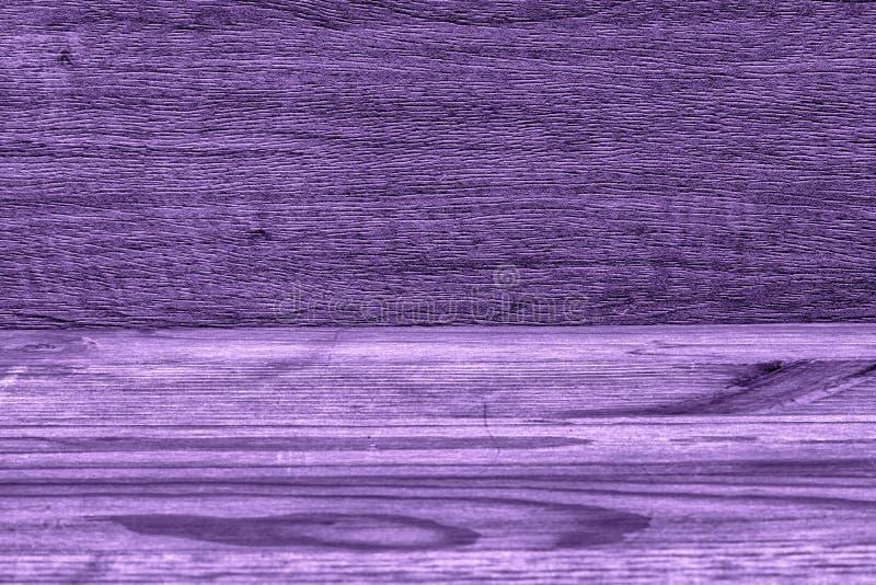 Ultra purpere lege houten textuur, eenvoudige achtergrond royalty-vrije stock foto's