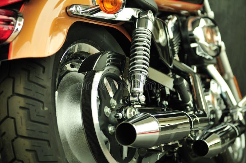 Ultra schone fiets royalty-vrije stock afbeelding