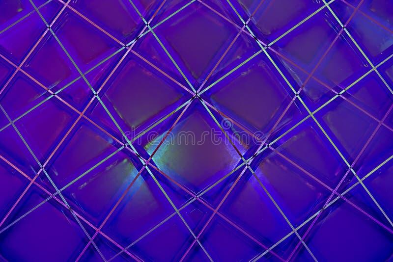 Ultra Violet Abstract Geometric Pattern arkivbild