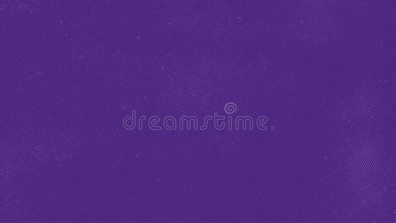 Ultra violet color vector background with halftone royalty free illustration