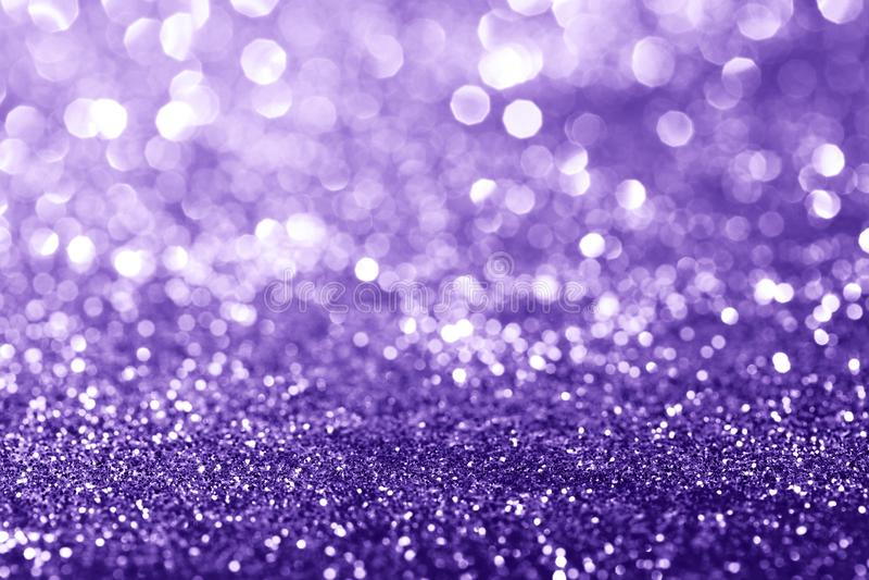 Ultra Violet glitter background stock photos