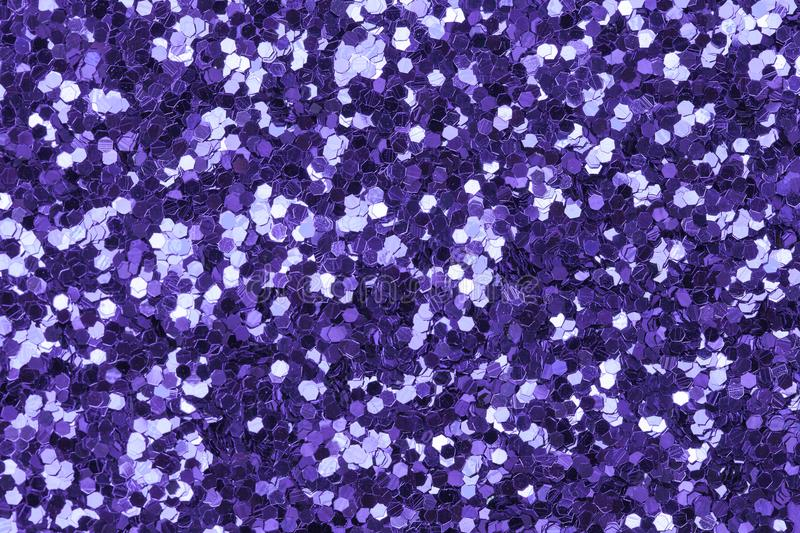Ultra violet glitter background. bright and festive royalty free stock images