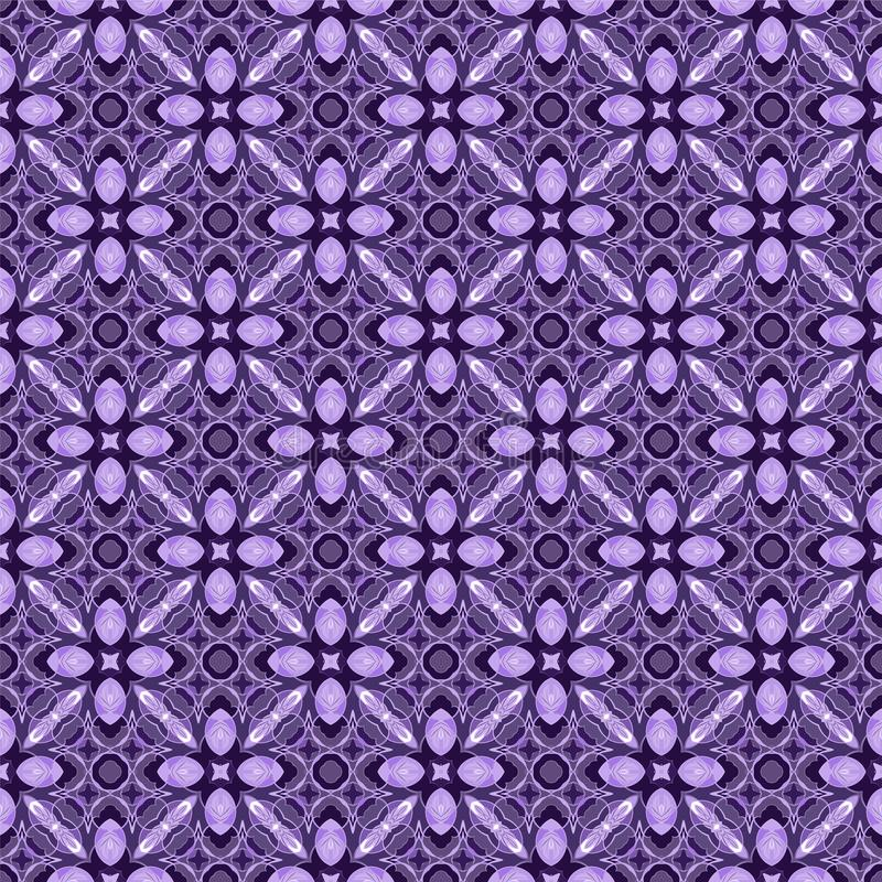 Ultrafioletowy bezszwowy wzór ilustracja wektor