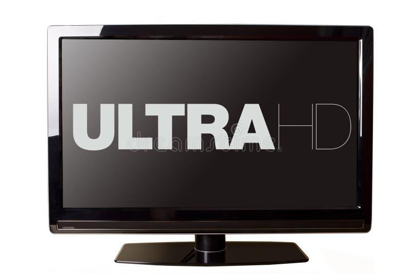 Ultrahd-Concept royalty-vrije stock afbeeldingen