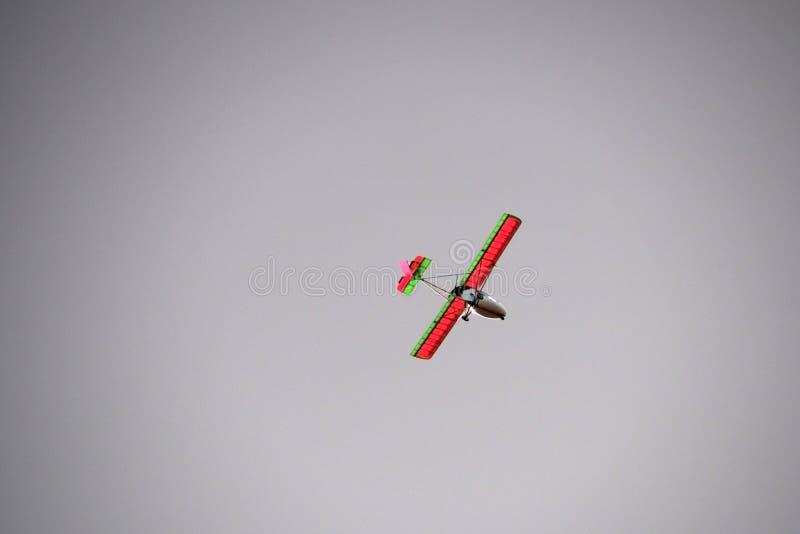 Ultralight воздушные судн в небе стоковые изображения