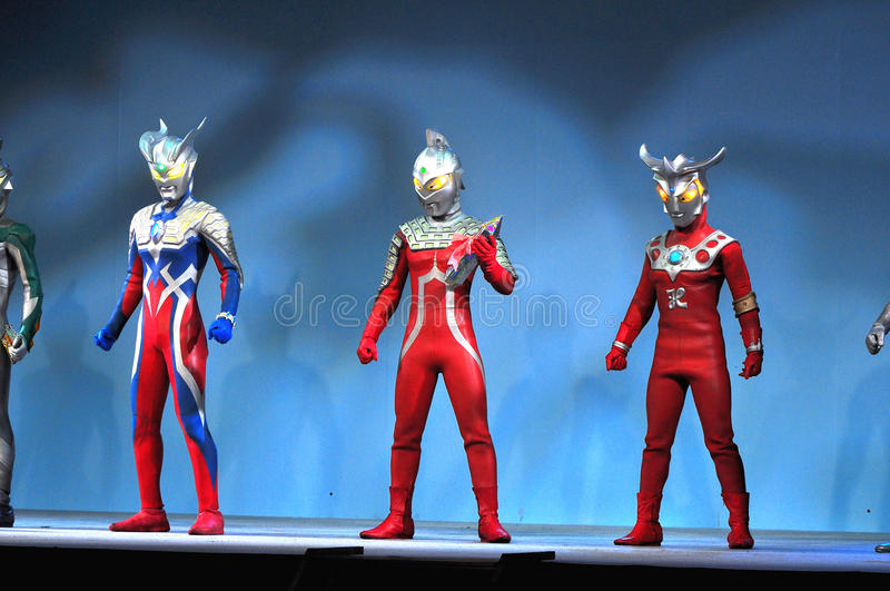 Ultraman Zero royalty free stock photo