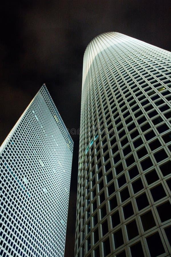ultramodern byggnadskontor royaltyfria bilder