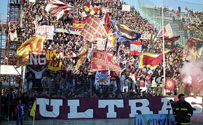 Ultras в Венеции стоковые изображения