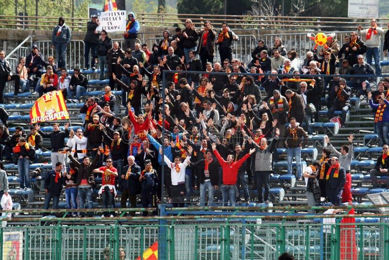Download Ultras catanzaro redaktionelles stockbild. Bild von italien - 27725349