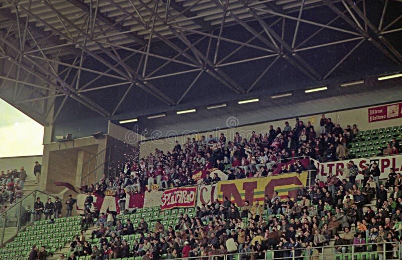 Ultras a Palermo immagine stock