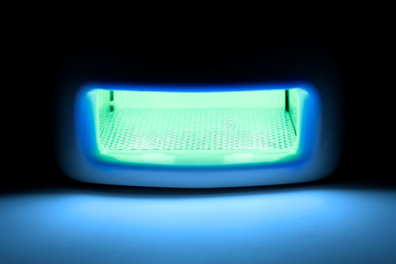 Ultraviolet lamp. stock image