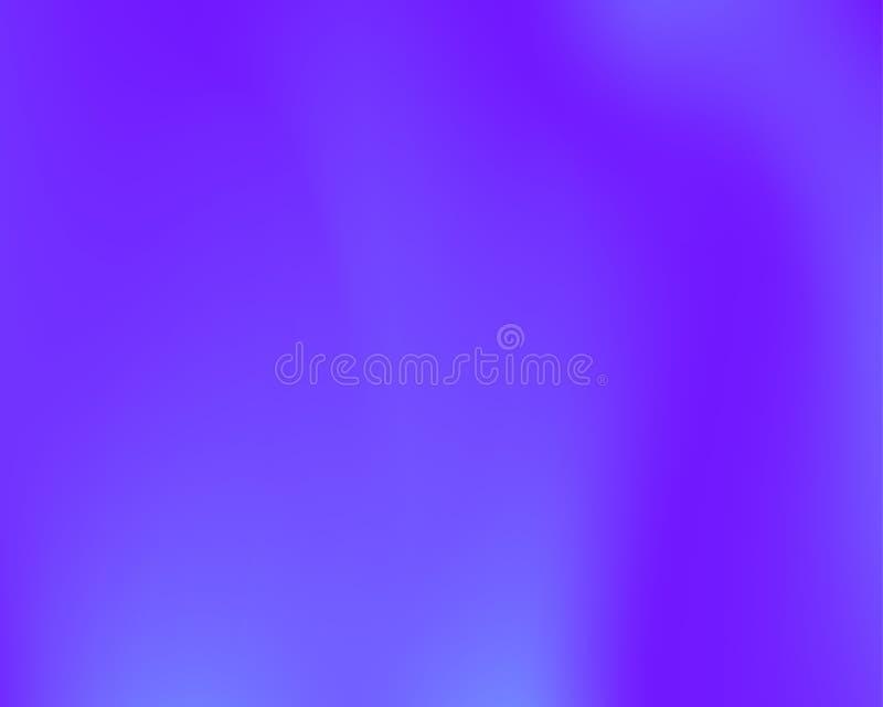 Ultraviolet wavy banner vector illustratie