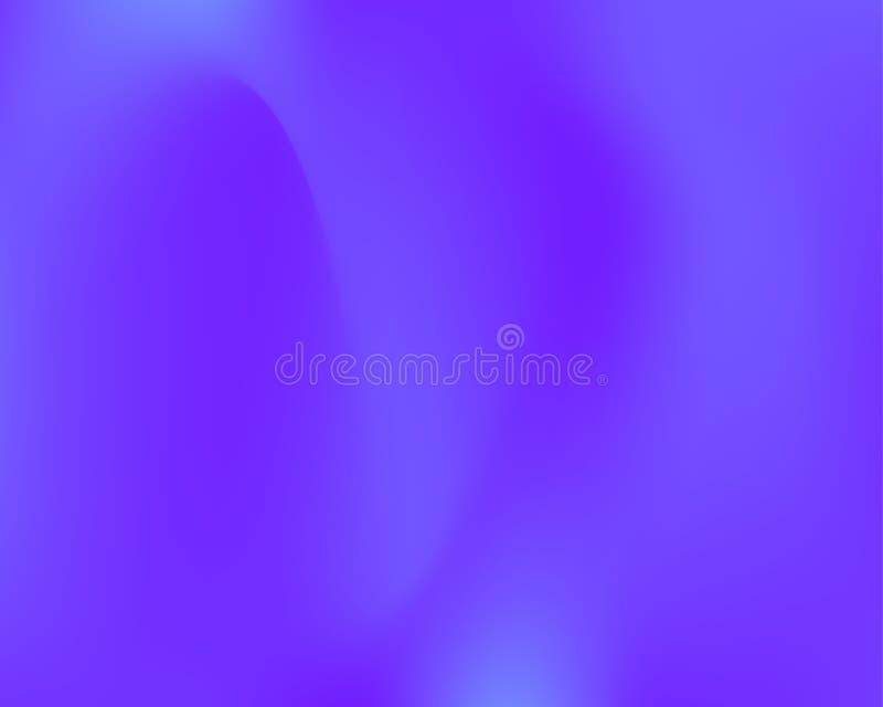 Ultraviolet wavy banner royalty-vrije illustratie