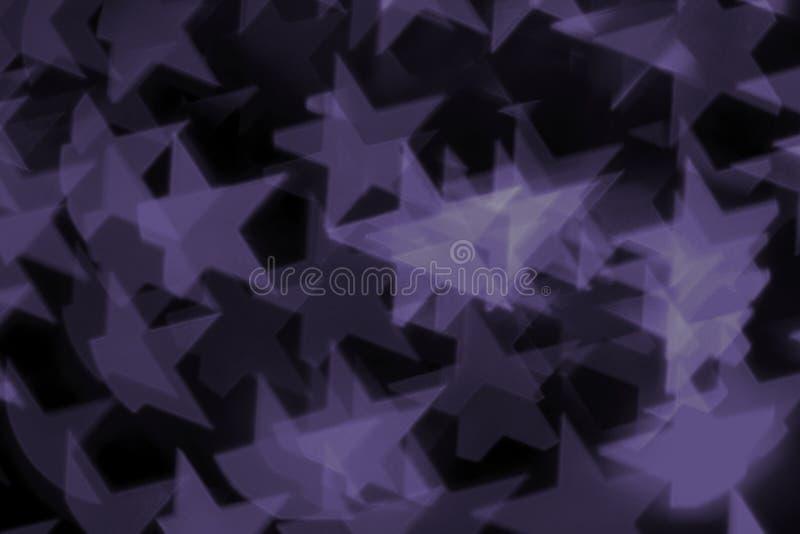 Ultravioletto variopinto del bokeh immagini stock libere da diritti