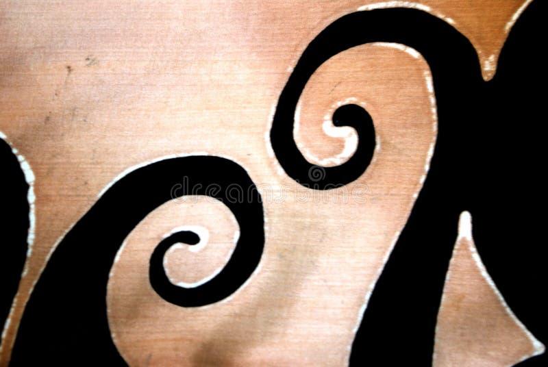ulu ουρακοτάγκων μοτίβου μ στοκ εικόνες