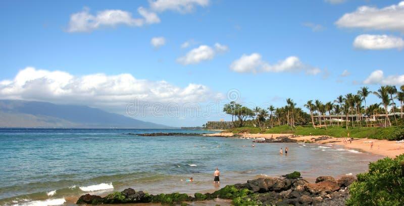 Ulua Bay, Maui stock image