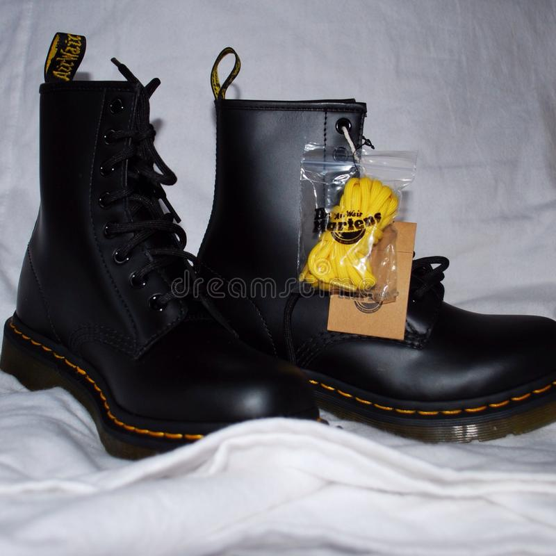 Ulubiona para buty obrazy stock