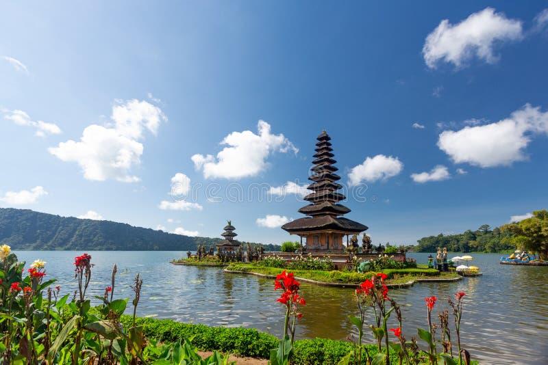 Ulun Danu Beratan temple in Bali. Indonesia royalty free stock photos