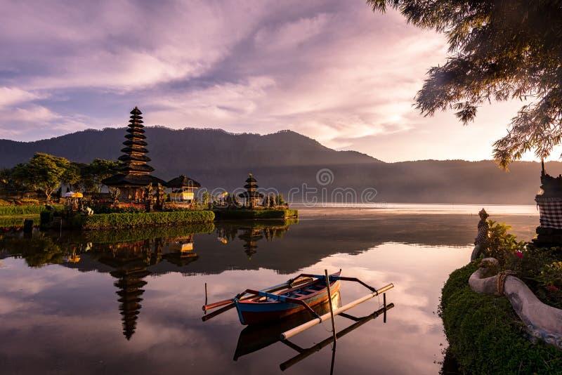 Ulundanu Temple, Bali Indonesia stock image