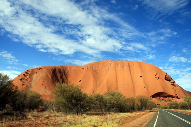 Uluru, утес Ayers - Австралия стоковое изображение rf