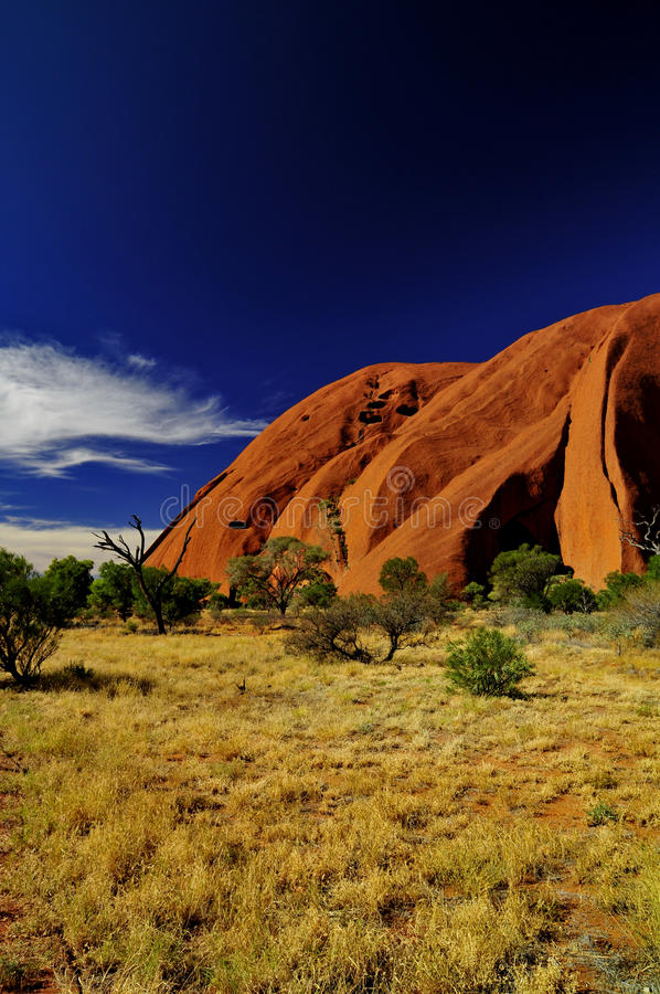 Uluru arkivbilder