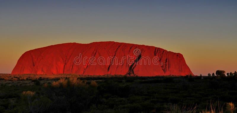 Uluru immagine stock