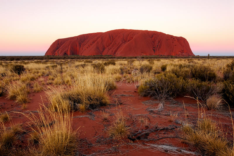 Uluru Australie images stock