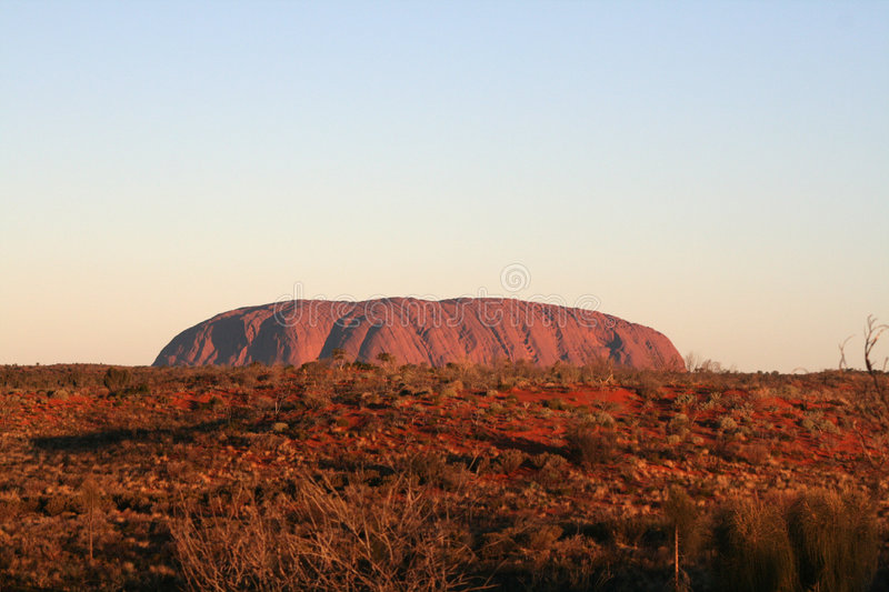 Download Uluru - Ayers Rock editorial stock image. Image of dome - 8089264