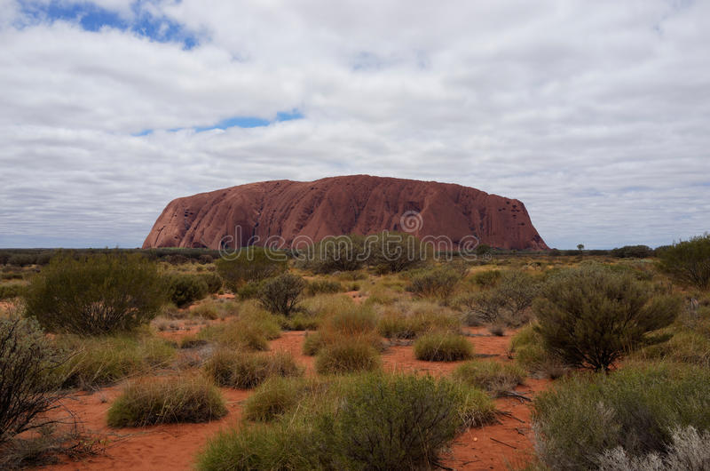 Uluru (Ayers Rock) stock photo