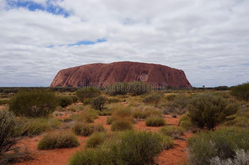 Uluru (Ayers skała) zdjęcie stock