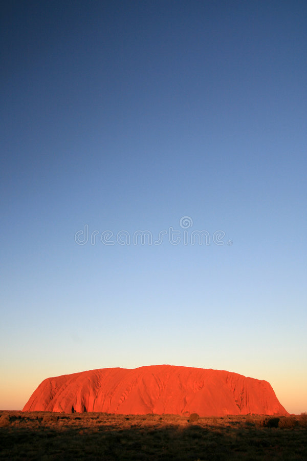 Free Uluru, Ayres Rock, Australia Royalty Free Stock Photos - 5912108