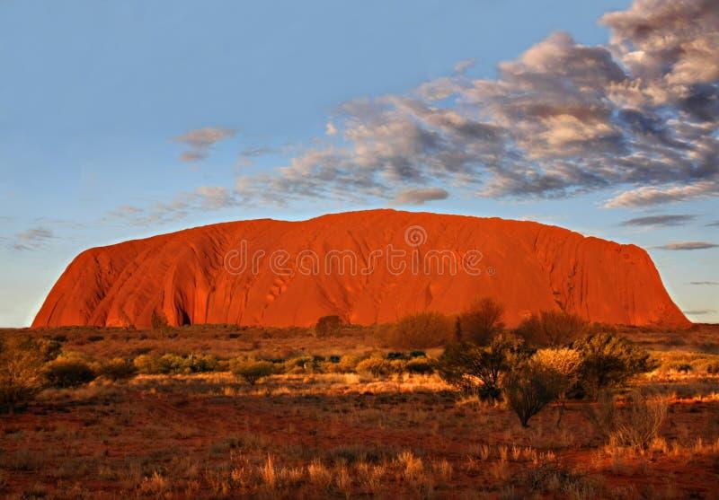Uluru - het Nationale Park van Kata Tjuta stock foto