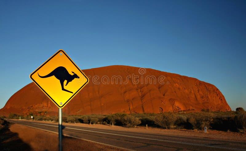 Uluru - Kata Tjuta National Park royalty free stock images