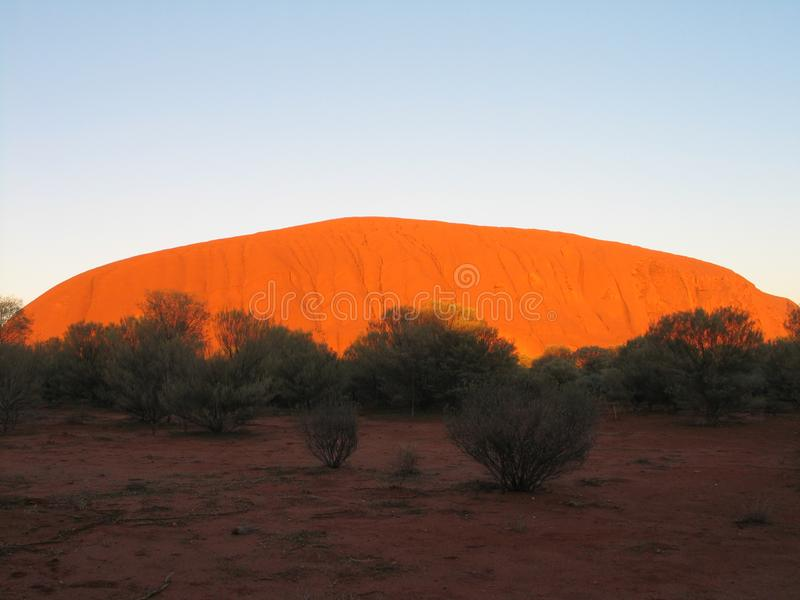 Uluru - Kata Tjuta National Park Outback Australia stock photo