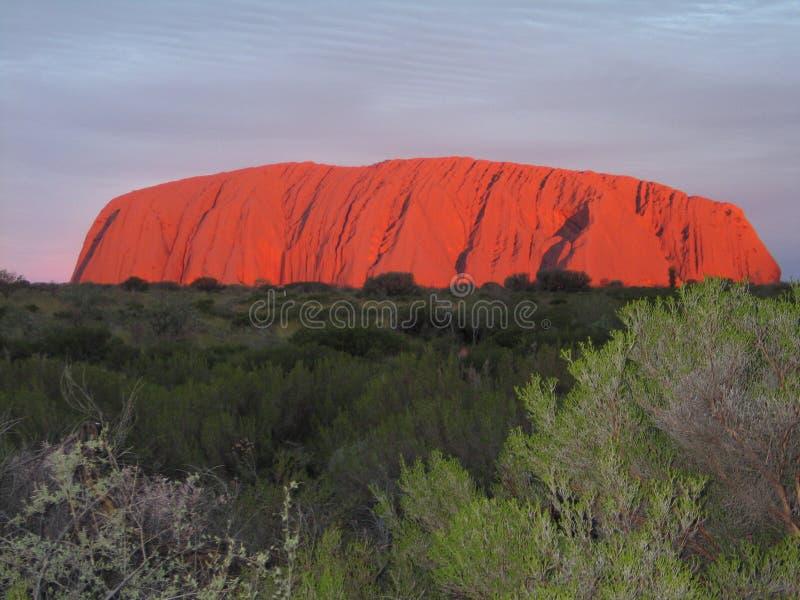 Uluru - Kata Tjuta National Park Outback Australien stockbilder