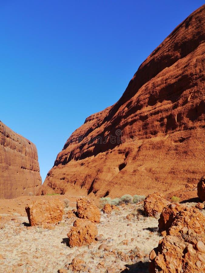 Uluru-Kata Tjuta nationalpark fotografering för bildbyråer