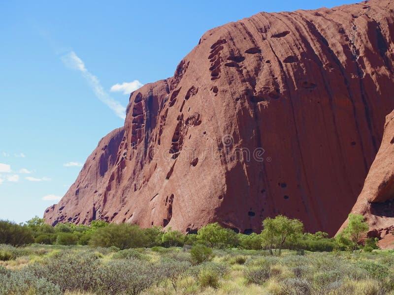 Uluru nordligt territorium, Australien 02/22/18 arkivbild